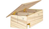 Igelhaus bauen