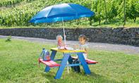 Kindersitzgruppe bauen