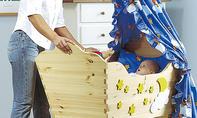 Kinderwiege selber bauen
