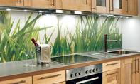 Küchenrückwand aus Plexiglas