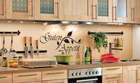 Küchenrückwand aus Holz