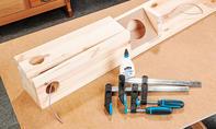Lautsprecher-Stehtisch bauen