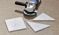 Marmor schneiden