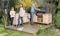 Bauplan Outdoorküche