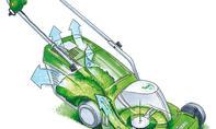 Rasenmäher mit Fangkorb