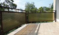 Sichtschutzmatte für den Balkon