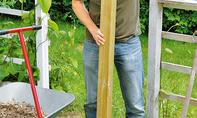 Gartenpforte bauen