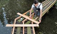 Planken aufschrauben