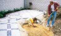 Quellsteinbrunnen bauen