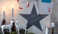 Stern aus Tafellack