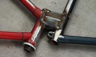 Tandem-Fahrrad