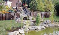 Teich mit Bachlauf bauen