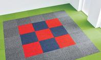 Teppichfliesen: Flexibler Bodenbelag