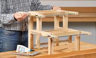 Treppenhocker bauen