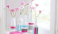 Washi Tape DIY: Vasen dekorieren