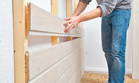 Wandverkleidung bauen