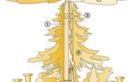 Weihnacht-Hängepyramide