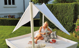 Relativ Outdoor-Daybed | selbst.de TJ05
