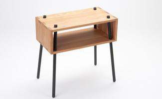 beistelltisch mit tablett. Black Bedroom Furniture Sets. Home Design Ideas
