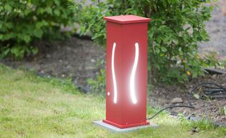 Au enleuchten - Gartenlampe selber bauen ...