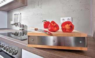 Küchenrückwand In Betonoptik