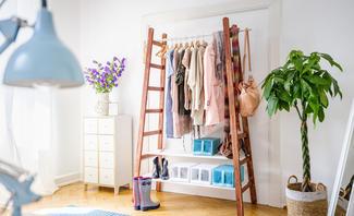 best garderoben selbst gemacht pictures. Black Bedroom Furniture Sets. Home Design Ideas