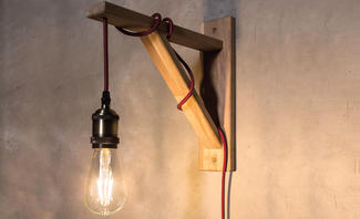 Lampe im Industrial Style