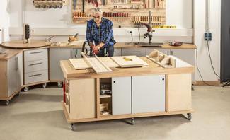 Bauplan: Multi-Werktisch