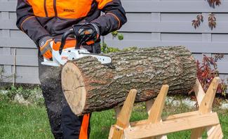 Brennholz machen