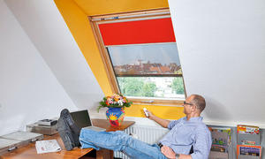 Dachfenster Sonnenschutz