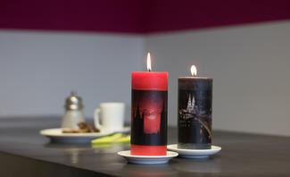 Kerze bedrucken