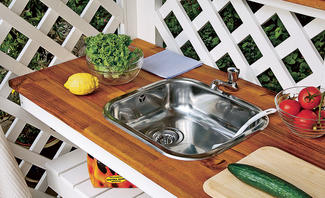 Garten-Waschbecken