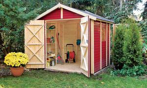Gerätehaus selber bauen