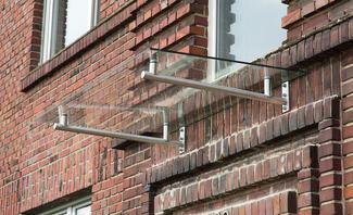 Häufig Vordach aus Glas | selbst.de XN01