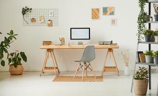 Kreative Ideen für das Home Office: So fühlen Sie sich wohl.