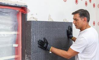 Fassadendämmung schafft Erleichterung bei hohen Außentemperaturen