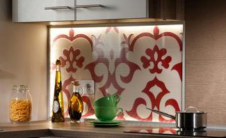 Küchenrückwand beleuchtet