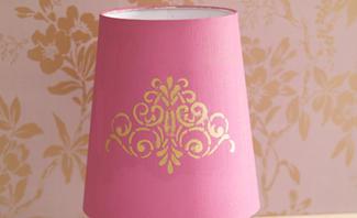 Lampenschirm gestalten