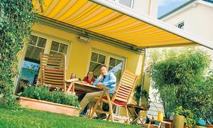 balkon sonnenschutz. Black Bedroom Furniture Sets. Home Design Ideas