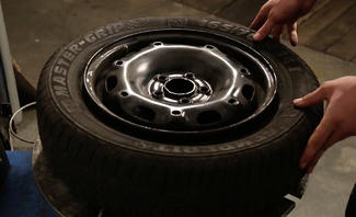 Reifen aufziehen