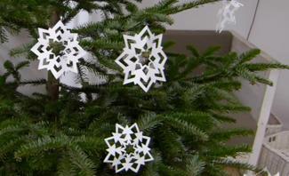 Scherenschnitt Weihnachten