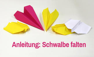 Papierflieger-Anleitung