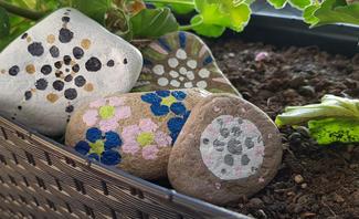 Mandala Steine