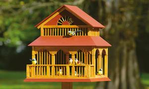 Vogelfutterhäuschen selber bauen