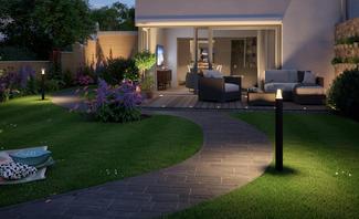gartenbeleuchtung. Black Bedroom Furniture Sets. Home Design Ideas
