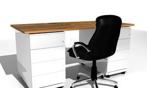 Attraktiv Bisley Schänke Als Schreibtisch Umgebaut