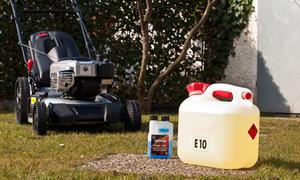 Welches Benzin für Rasenmäher