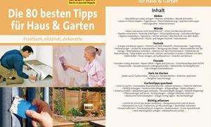 Die 80 besten Tipps für Haus und Garten