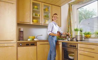Küchenmöbel bauen