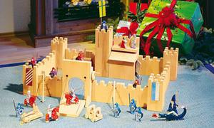 Ritterburg bauen